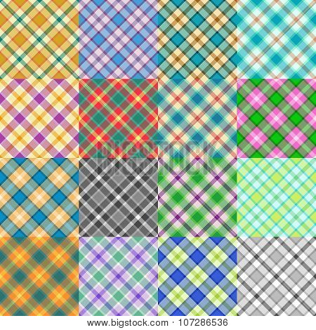 Fantasy Tartan Patterns