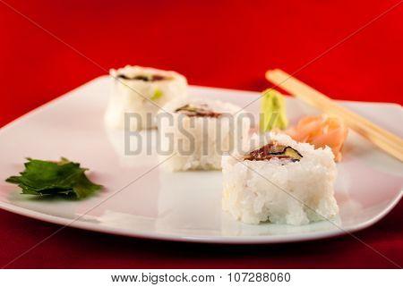 Sushi Bluefin Tuna Fish Futumaki California
