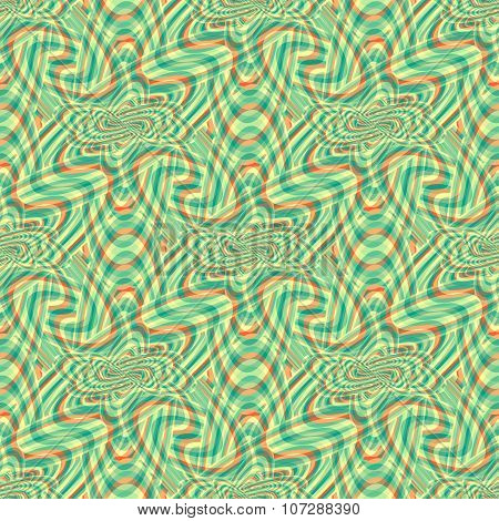 Geometric Pattern Colored Background