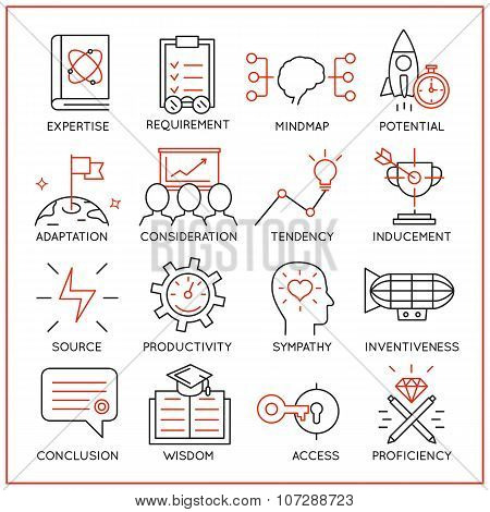 Human Resource Management Icons - Part 3