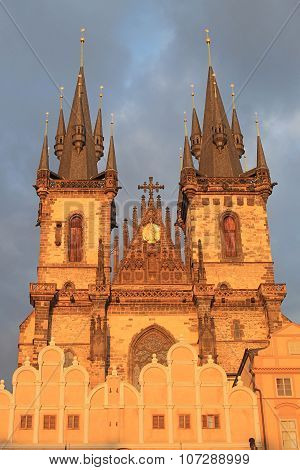 Church Of Our Lady In Front Of Tyn, Prague