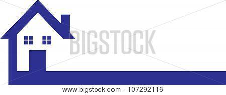 House Logo Blue