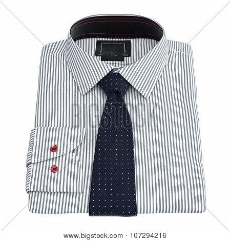 Men's striped shirt