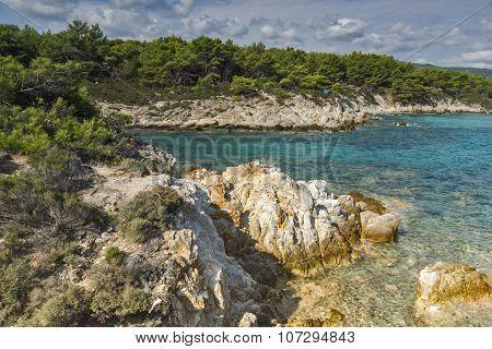 Orange Beach Kavourotripes, Chalkidiki, Sithonia, Central Macedonia