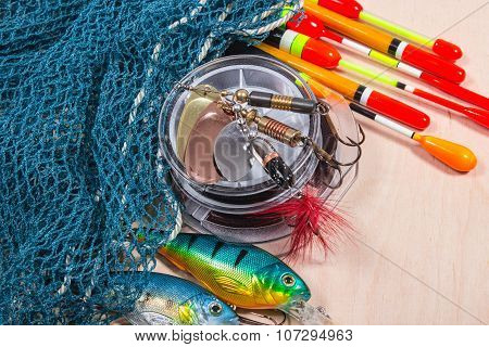 Wobbler, Floats And Fishing Accessories