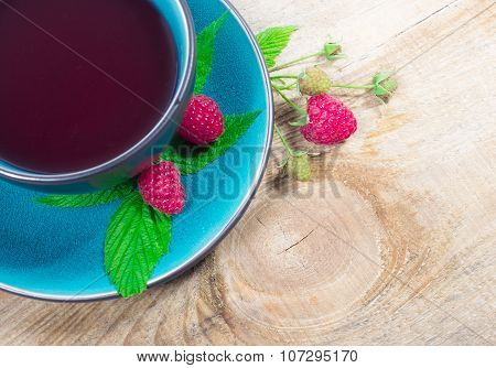 Tea Raspberry - Closeup.