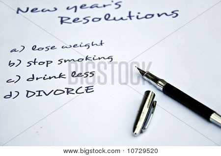 Divorce Resolution
