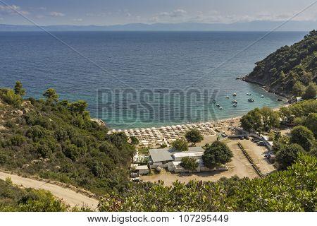 Oneirou Beach Manassu, Chalkidiki, Sithonia, Central Macedonia