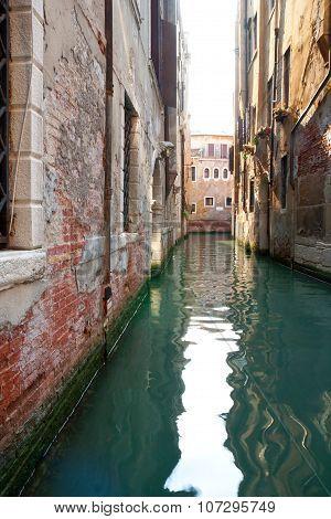 Venetian Canal Near San Marco Square