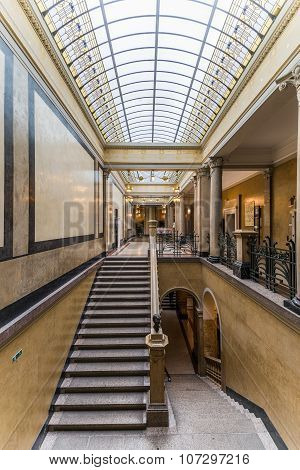 Heidelberg, Germany - October 17, 2015 - The Old Library Of Heid