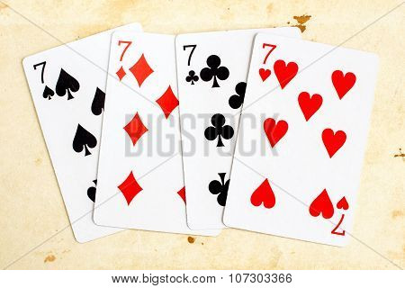 Playing Cards - Seven (poker)