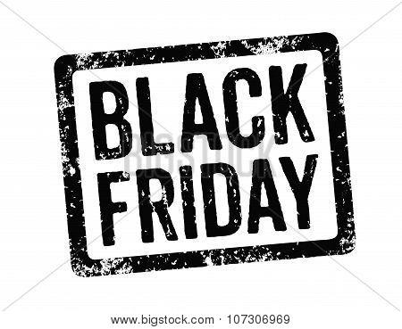 Black Stamp - Black Friday