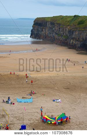 Summer Holidays On Ballybunion Beach