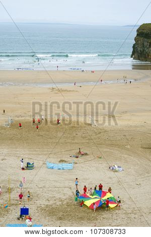 Summer Time On Ballybunion Beach