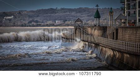 Swansea Bay promenade