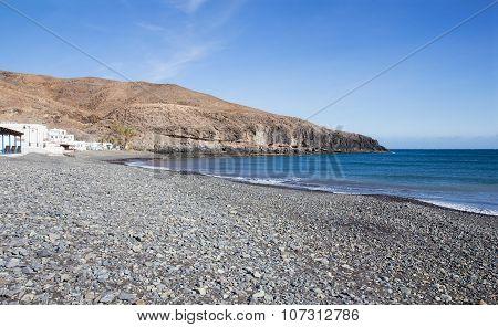 Giniginamar Beach In Fuerteventura In Spain