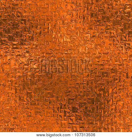 Orange Foil HD Texture