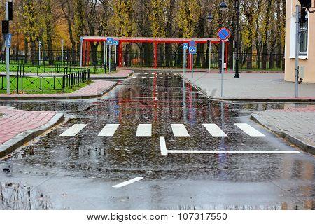 A children's automobile city