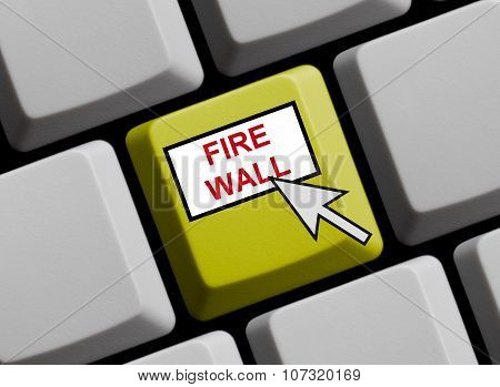 Yellow Keyboard - Firewall Online
