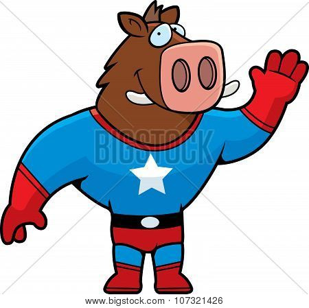 Superhero Boar