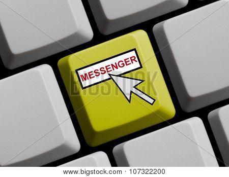 Yellow Keyboard - Messenger Online