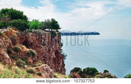 View Of Antalya Coastline (turkey)