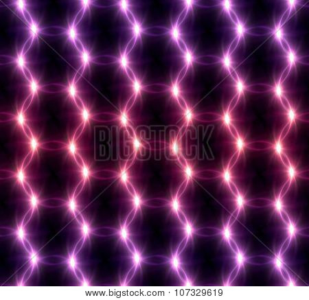 Lens Flare Overlap Red Pink Mix Pattern
