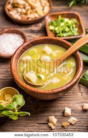 Delicious Leek Soup