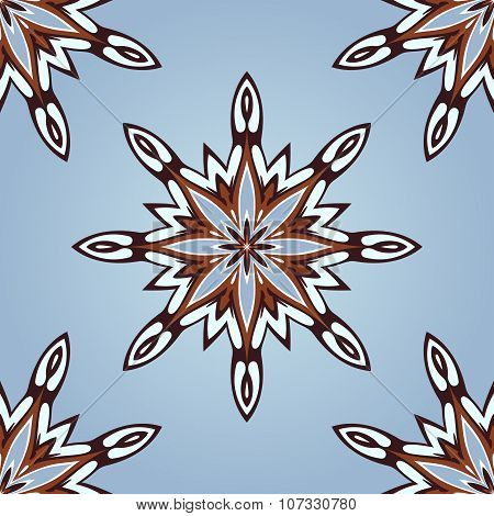 Happy Winter Seamless Pattern