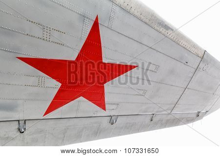 Star, the symbol of Russian Air Force on aircraft