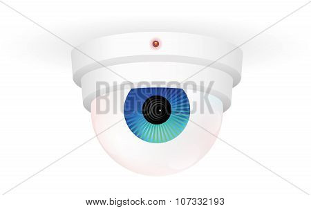 Cctv Monitoring Camera Eye