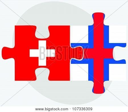 Switzerland And Faroe Islands