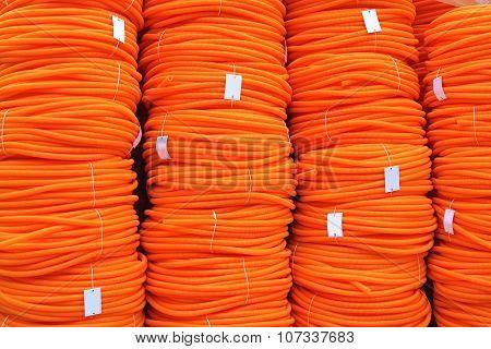 Orange Hose Coils