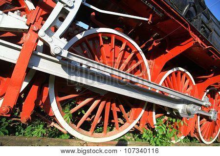 Steam Locomotive Detail