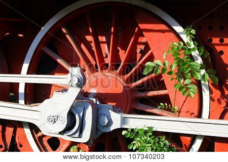Steam Locomotive Detail