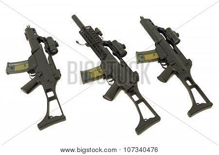 Three Machine Guns