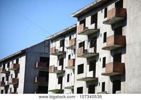 Abandoned Blocks Of Flats