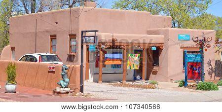 Historic adobe house