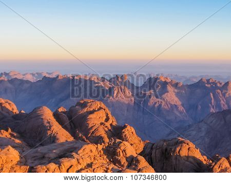 Mount Sinai at sunrise