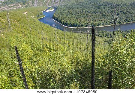Mountain River Anuy .