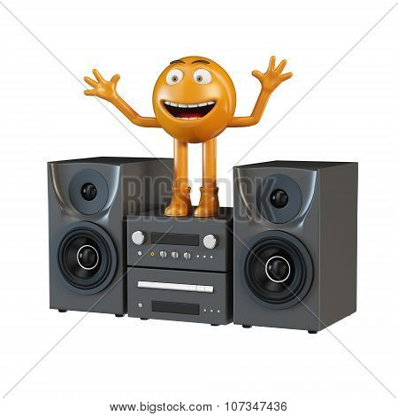 Musical person and audio center