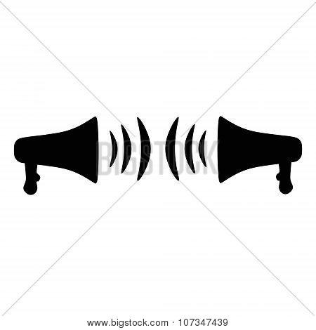 Loudspeaker or megaphone