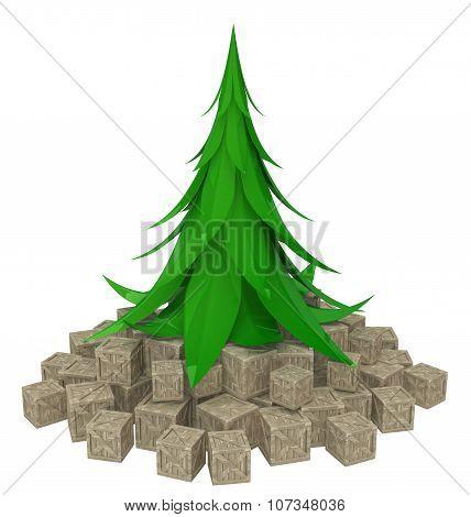 Fir Tree Crates