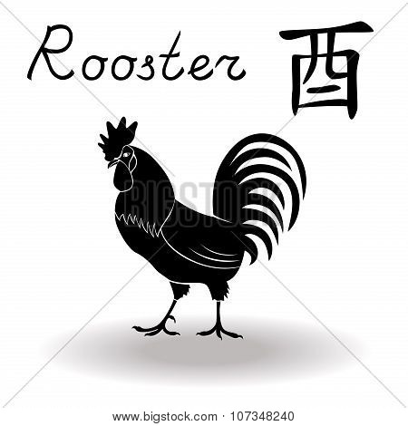 Chinese Zodiac Sign Rooster