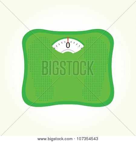 Weight scales isolated vector