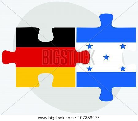 Germany And Honduras Flags
