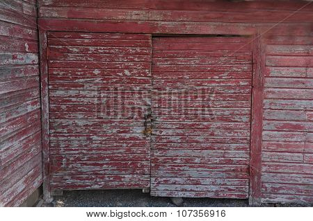 red barn doors