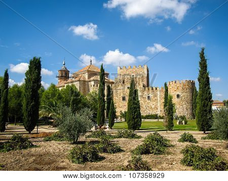 Castle Mascaraque, Toledo, Castilla La Mancha, Spain