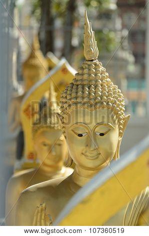 Buddha Statues.