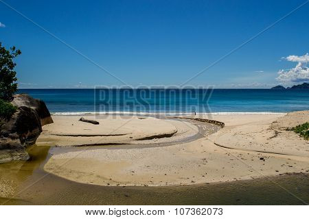 Mahe Beach - Seychelles